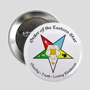 "Eastern Star 2.25"" Button"