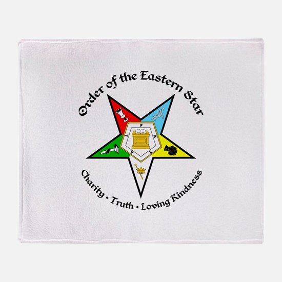Eastern Star Throw Blanket