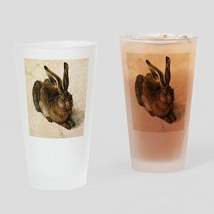 Albrecht Durer Young Hare Drinking Glass