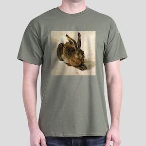 Albrecht Durer Young Hare Dark T-Shirt