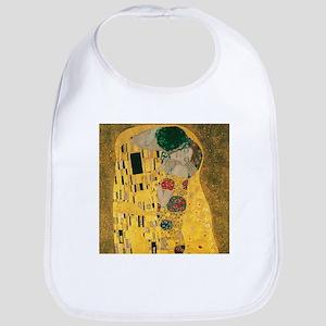 Gustav Klimt The Kiss (Detail) Bib