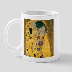 Gustav Klimt The Kiss (Detail) Mug