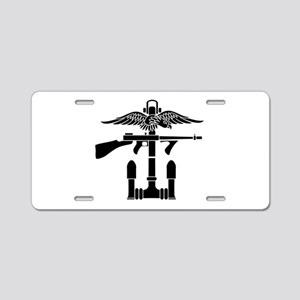 SOG - B Aluminum License Plate