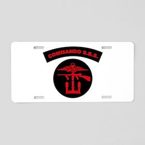 Commando S.B.S. Aluminum License Plate
