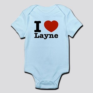 I Love Layne Infant Bodysuit