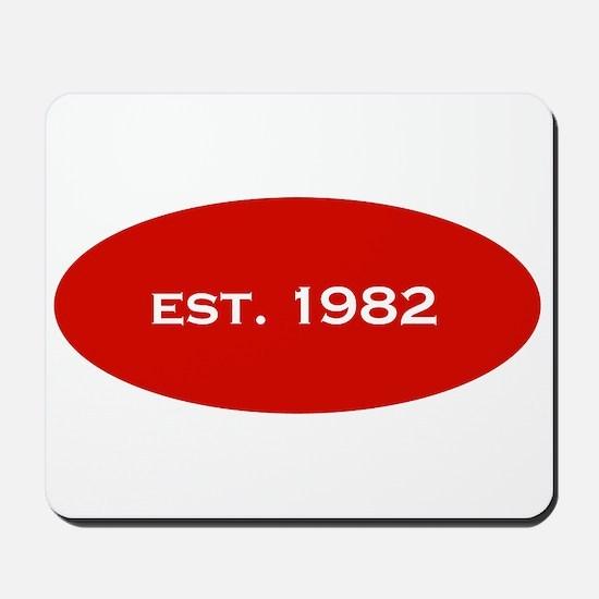Est. 1982 Mousepad