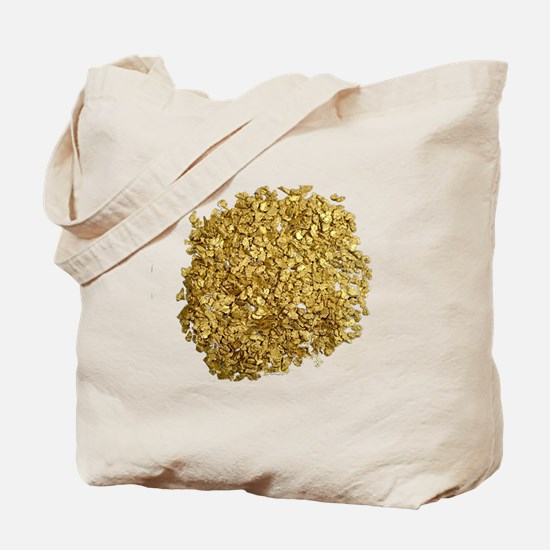 Gold Nuggets Tote Bag