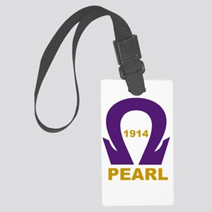 Que Pearl 1914 Large Luggage Tag