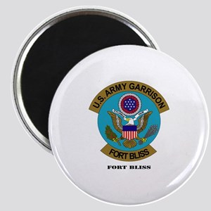 Fort Bliss with Text Magnet