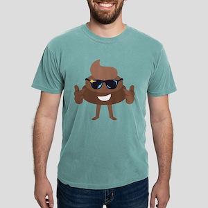 Poop Emoji Thumbs Up Mens Comfort Colors Shirt