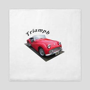 1961 Triumph Sportscar! Queen Duvet