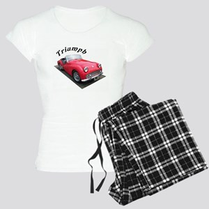 1961 Triumph Sportscar! Women's Light Pajamas