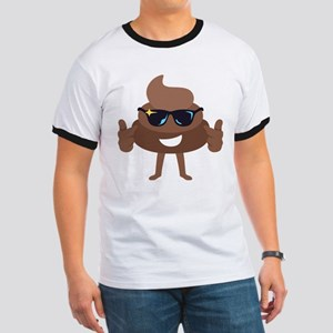 Poop Emoji Thumbs Up T-Shirt