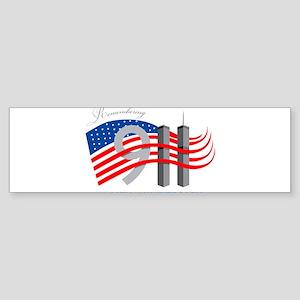 Remembering 911 - 11th Anniversary Sticker (Bumper