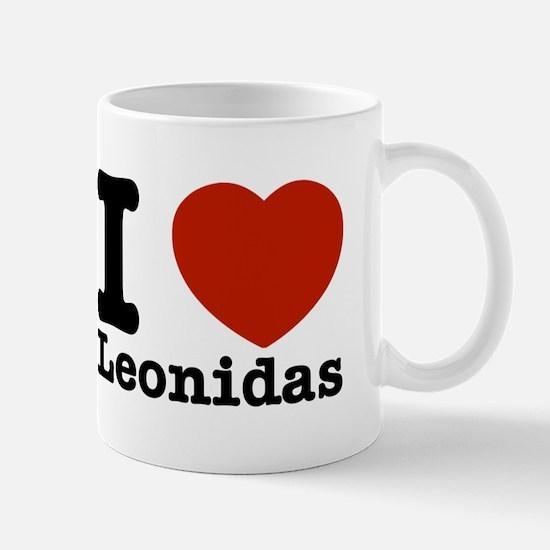 I Love Leonidas Mug