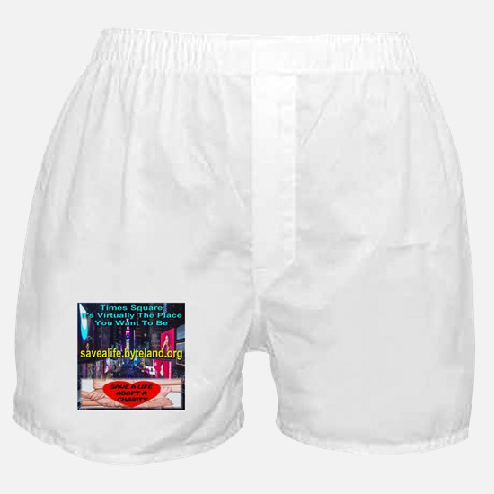 Save A Life Adopt A Charity Boxer Shorts