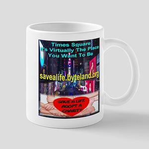 Save A Life Adopt A Charity Mug