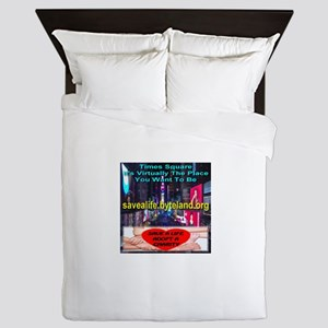 Save A Life Adopt A Charity Queen Duvet