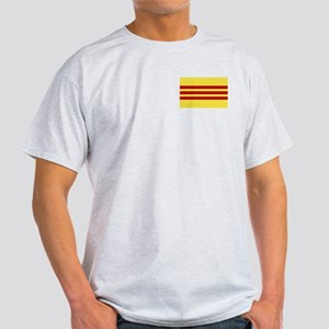 Flag of Vietnam Ash Grey T-Shirt