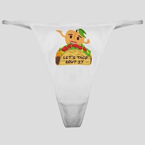 Emoji Taco Bout It Classic Thong