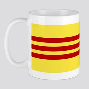Flag of Vietnam Mug Left