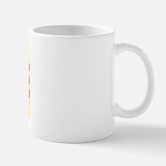 Flag of Vietnam Mug Left