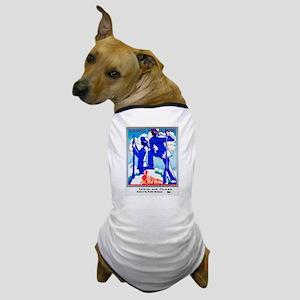 Pacific Northwest Travel Poster 1 Dog T-Shirt