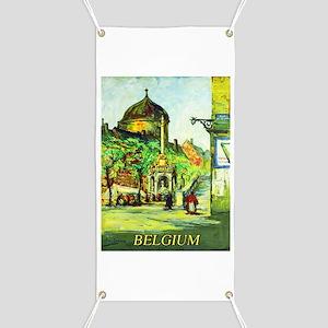 Belgium Travel Poster 1 Banner
