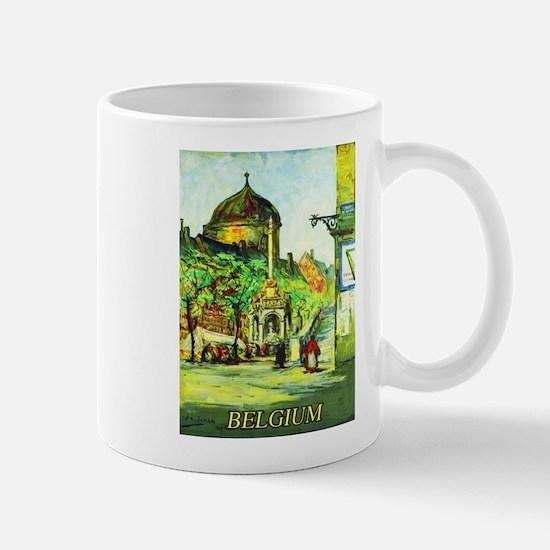 Belgium Travel Poster 1 Mug