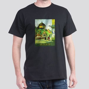 Belgium Travel Poster 1 Dark T-Shirt