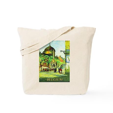 Belgium Travel Poster 1 Tote Bag