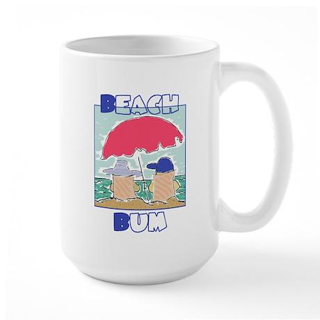 Beach Bum Large Mug