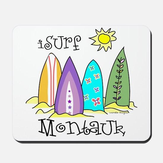 I Surf Montauk Mousepad