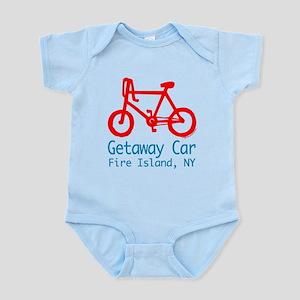 Fire Island Getaway Car Infant Bodysuit