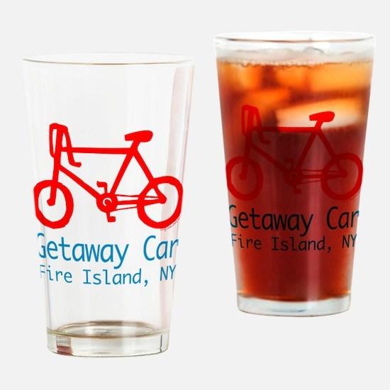Fire Island Getaway Car Drinking Glass