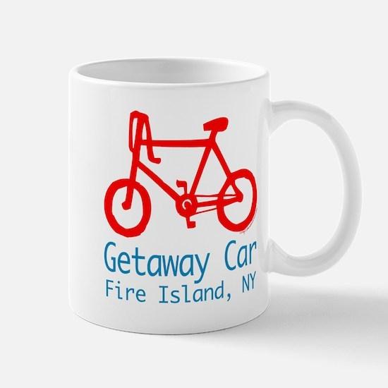 Fire Island Getaway Car Mug