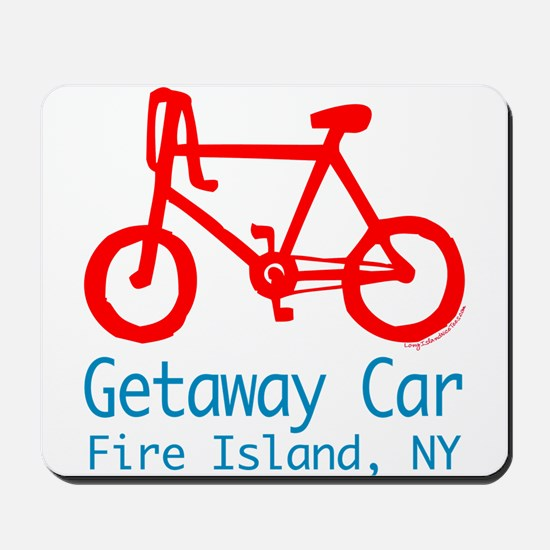 Fire Island Getaway Car Mousepad