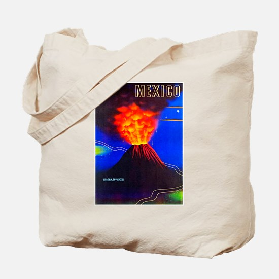 Mexico Travel Poster 1 Tote Bag