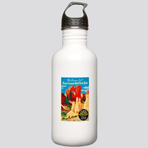 Utah Travel Poster 2 Stainless Water Bottle 1.0L