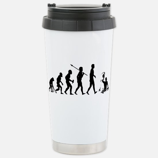 Water Polo Stainless Steel Travel Mug