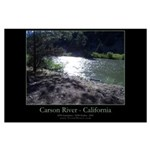 Large Poster - Carson River