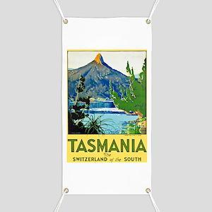 Tasmania Travel Poster 1 Banner