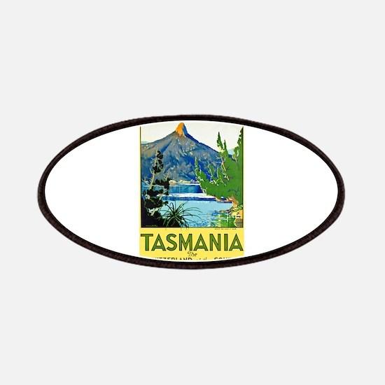 Tasmania Travel Poster 1 Patches