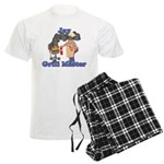 Grill Master Jay Men's Light Pajamas