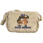 Grill Master Jay Messenger Bag