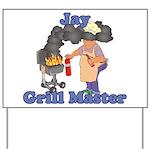 Grill Master Jay Yard Sign
