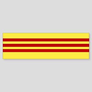 Vietnamese Freedom Flag Bumper Sticker
