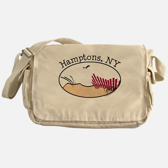 Hamptons NY Messenger Bag
