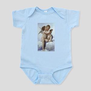Bouguereau L'Amour et Psyché Infant Bodysuit