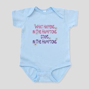 What Happens in the Hamptons Infant Bodysuit